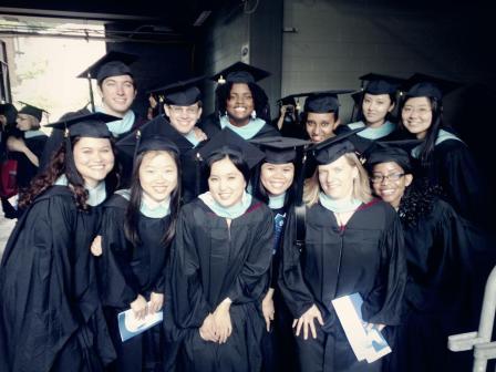 Graduate School of Education's graduation ceremony.