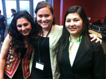 My activist Afghan friends Nargis and Sabra