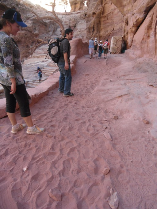 Pretty Petra-pink sand